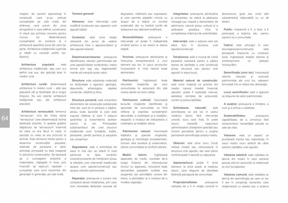 Pagina 66 - Zona Dobrogea Centrala si Muntii Macin - Ghid de arhitectura pentru incadrarea in...