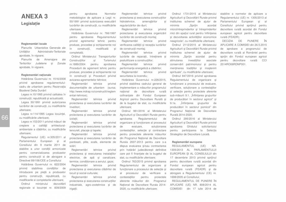 Pagina 68 - Zona Dobrogea Centrala si Muntii Macin - Ghid de arhitectura pentru incadrarea in...
