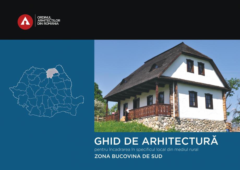Pagina 1 - Zona Bucovina de Sud - Ghid de arhitectura pentru incadrarea in specificul local din...