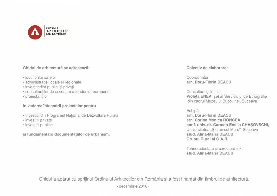 Pagina 2 - Zona Bucovina de Sud - Ghid de arhitectura pentru incadrarea in specificul local din...