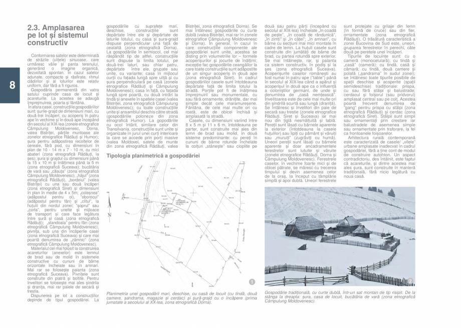 Pagina 10 - Zona Bucovina de Sud - Ghid de arhitectura pentru incadrarea in specificul local din...