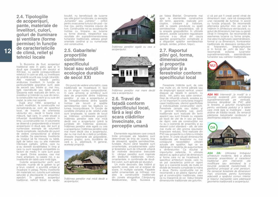 Pagina 14 - Zona Bucovina de Sud - Ghid de arhitectura pentru incadrarea in specificul local din...