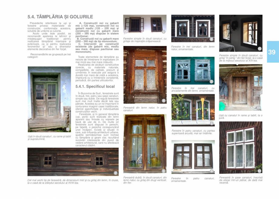 Pagina 41 - Zona Bucovina de Sud - Ghid de arhitectura pentru incadrarea in specificul local din...