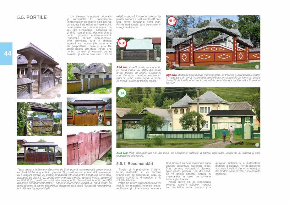 Pagina 46 - Zona Bucovina de Sud - Ghid de arhitectura pentru incadrarea in specificul local din...