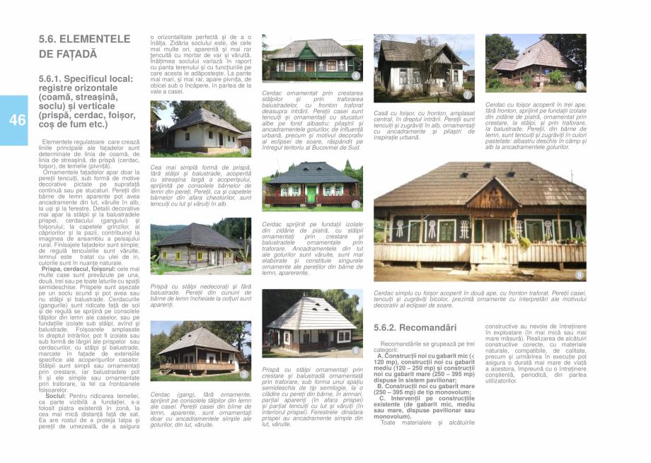 Pagina 48 - Zona Bucovina de Sud - Ghid de arhitectura pentru incadrarea in specificul local din...