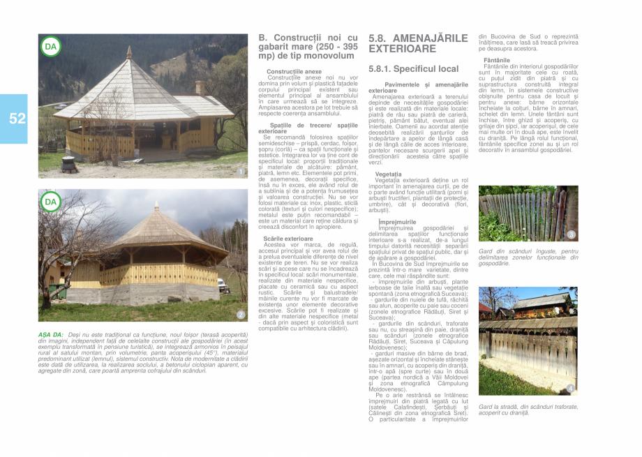 Pagina 54 - Zona Bucovina de Sud - Ghid de arhitectura pentru incadrarea in specificul local din...