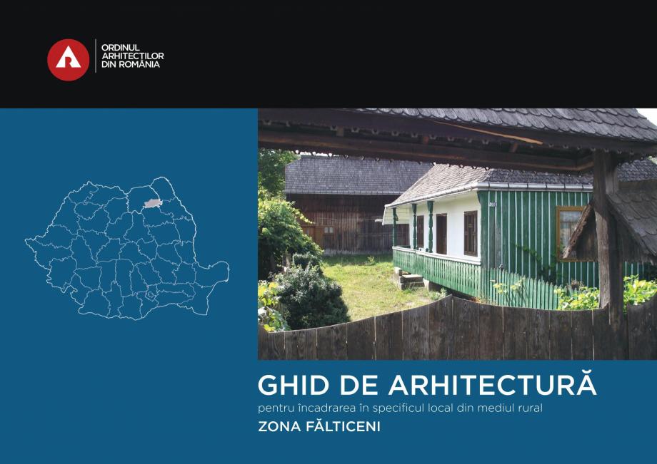 Pagina 1 - Zona Falticeni - Ghid de arhitectura pentru incadrarea in specificul local din mediul...