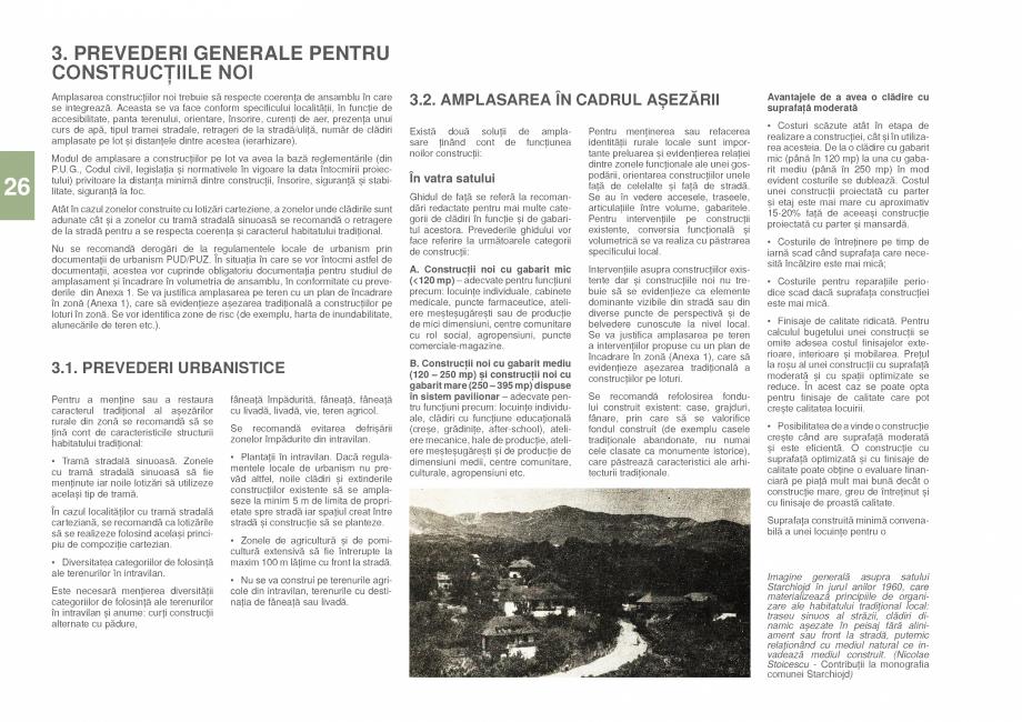 Pagina 28 - Zona Prahova Subcarpatica - Ghid de arhitectura pentru incadrarea in specificul local...