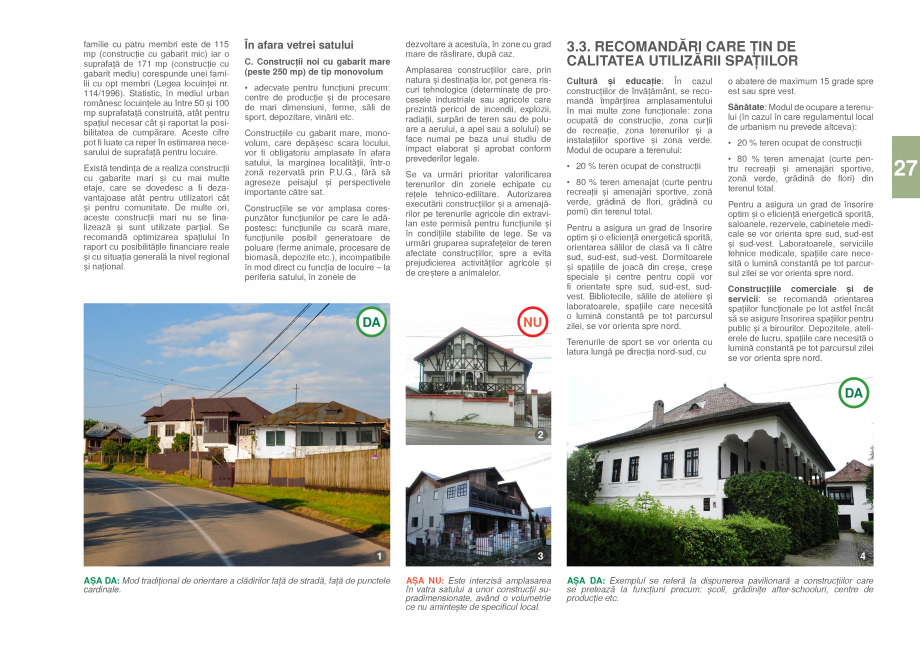 Pagina 29 - Zona Prahova Subcarpatica - Ghid de arhitectura pentru incadrarea in specificul local...