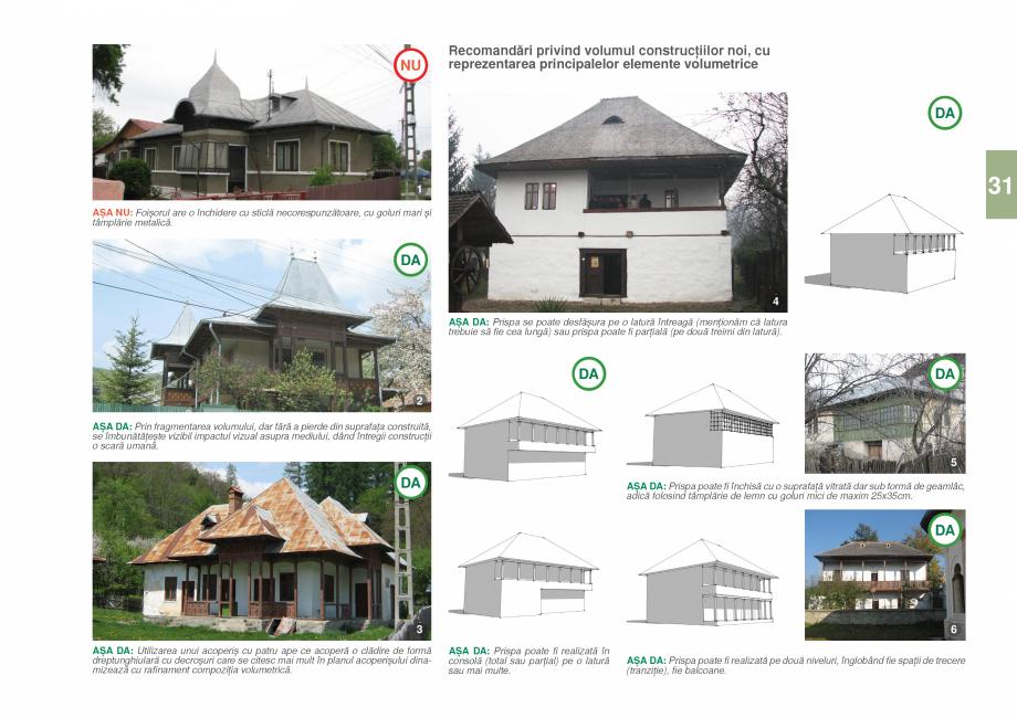 Pagina 33 - Zona Prahova Subcarpatica - Ghid de arhitectura pentru incadrarea in specificul local...