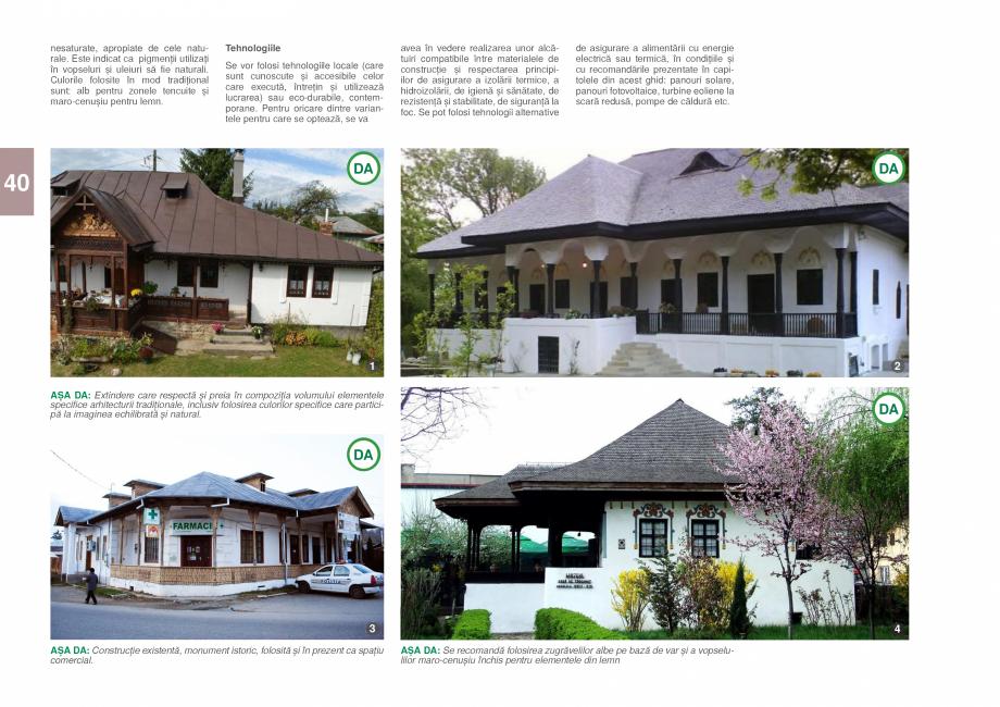 Pagina 42 - Zona Prahova Subcarpatica - Ghid de arhitectura pentru incadrarea in specificul local...