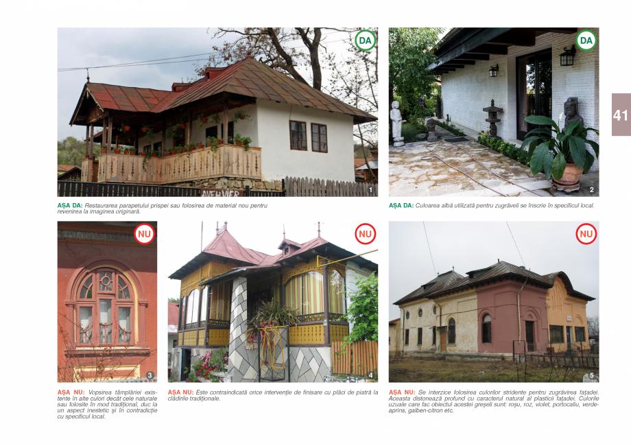 Pagina 43 - Zona Prahova Subcarpatica - Ghid de arhitectura pentru incadrarea in specificul local...