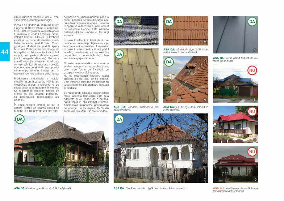 Pagina 46 - Zona Prahova Subcarpatica - Ghid de arhitectura pentru incadrarea in specificul local...