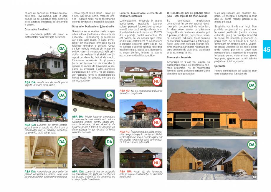 Pagina 47 - Zona Prahova Subcarpatica - Ghid de arhitectura pentru incadrarea in specificul local...