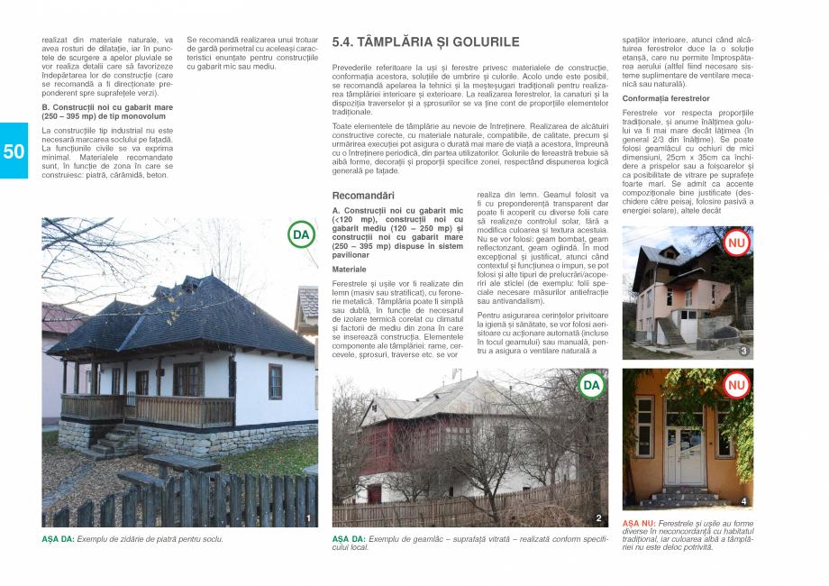 Pagina 52 - Zona Prahova Subcarpatica - Ghid de arhitectura pentru incadrarea in specificul local...