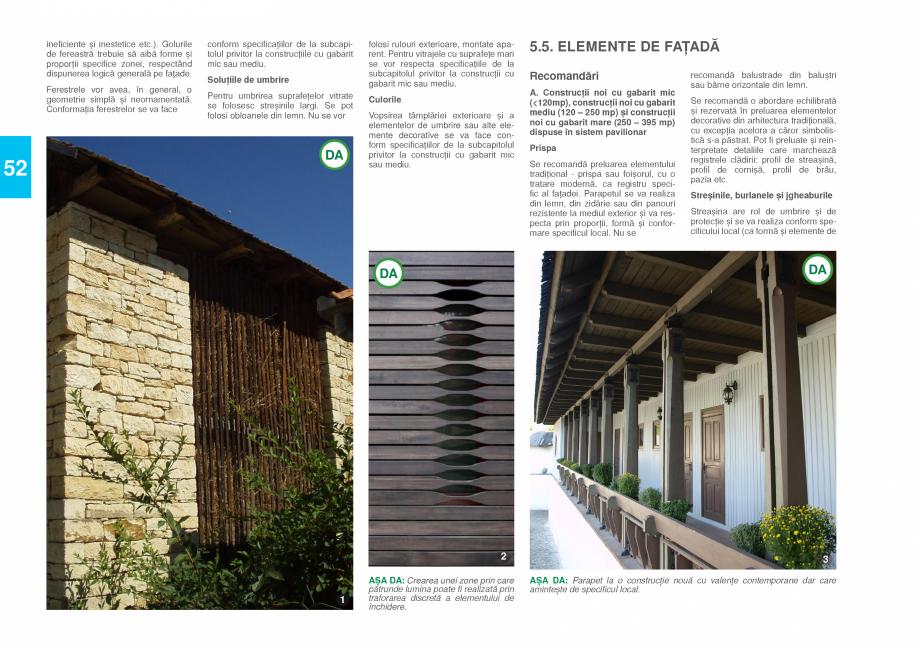 Pagina 54 - Zona Prahova Subcarpatica - Ghid de arhitectura pentru incadrarea in specificul local...