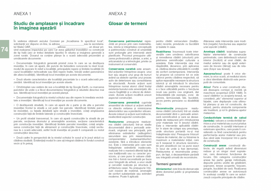 Pagina 76 - Zona Prahova Subcarpatica - Ghid de arhitectura pentru incadrarea in specificul local...