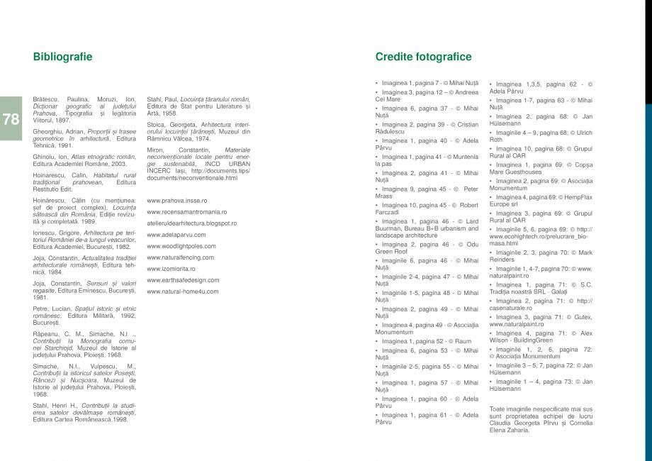 Pagina 80 - Zona Prahova Subcarpatica - Ghid de arhitectura pentru incadrarea in specificul local...