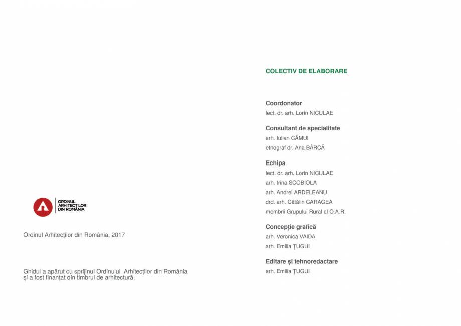 Pagina 4 - Zona Gorj - Ghid de arhitectura pentru incadrarea in specificul local din mediul rural ...
