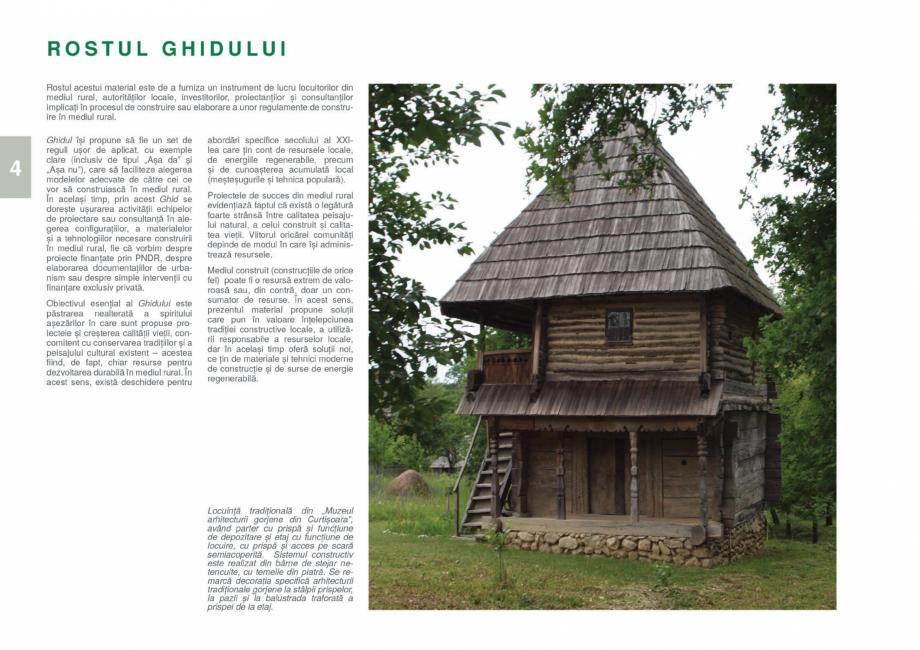Pagina 6 - Zona Gorj - Ghid de arhitectura pentru incadrarea in specificul local din mediul rural ...