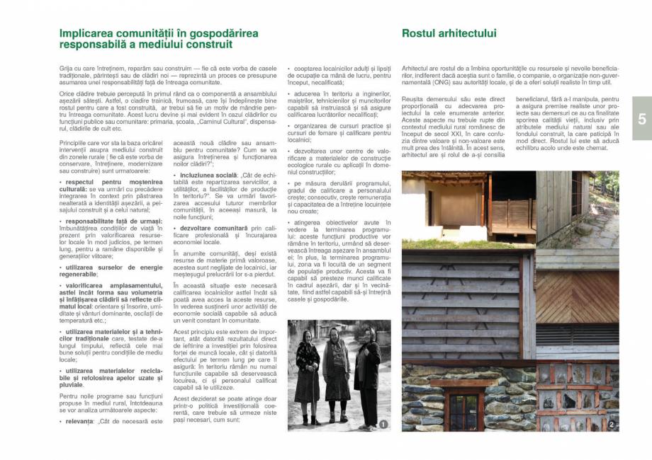 Pagina 7 - Zona Gorj - Ghid de arhitectura pentru incadrarea in specificul local din mediul rural ...