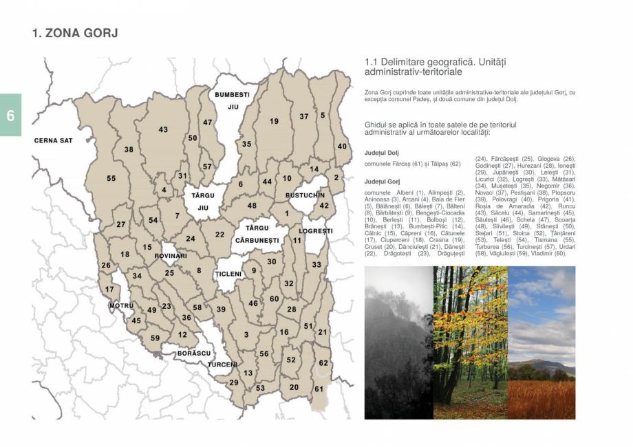 Pagina 8 - Zona Gorj - Ghid de arhitectura pentru incadrarea in specificul local din mediul rural ...