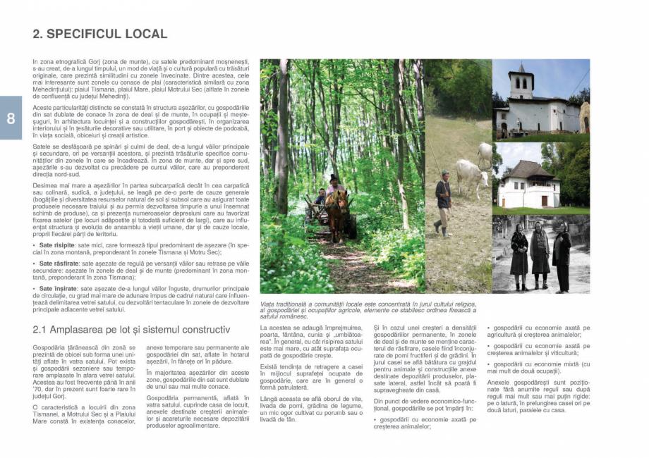Pagina 10 - Zona Gorj - Ghid de arhitectura pentru incadrarea in specificul local din mediul rural  ...