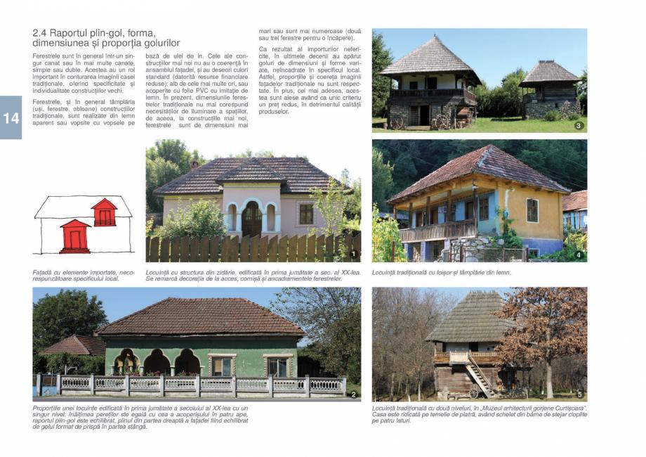 Pagina 16 - Zona Gorj - Ghid de arhitectura pentru incadrarea in specificul local din mediul rural  ...