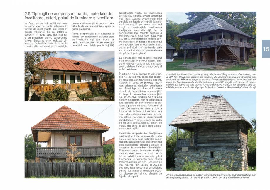 Pagina 17 - Zona Gorj - Ghid de arhitectura pentru incadrarea in specificul local din mediul rural  ...