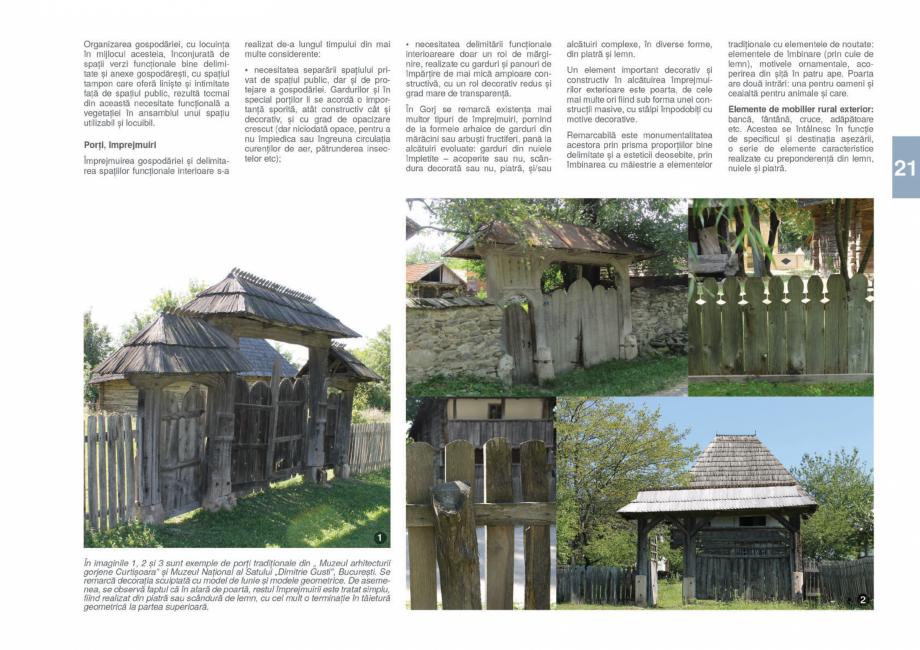Pagina 23 - Zona Gorj - Ghid de arhitectura pentru incadrarea in specificul local din mediul rural  ...