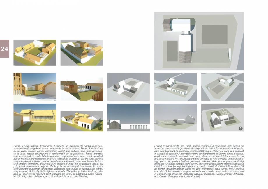 Pagina 26 - Zona Gorj - Ghid de arhitectura pentru incadrarea in specificul local din mediul rural  ...