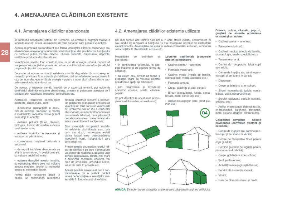 Pagina 30 - Zona Gorj - Ghid de arhitectura pentru incadrarea in specificul local din mediul rural  ...