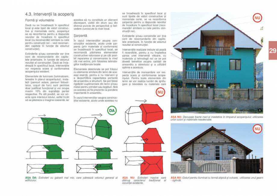 Pagina 31 - Zona Gorj - Ghid de arhitectura pentru incadrarea in specificul local din mediul rural  ...