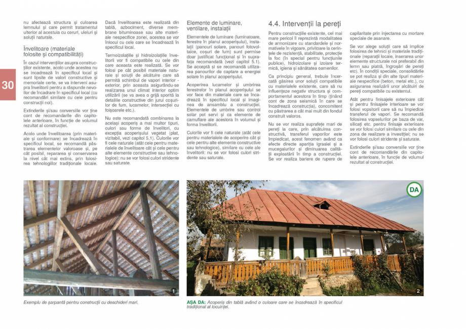 Pagina 32 - Zona Gorj - Ghid de arhitectura pentru incadrarea in specificul local din mediul rural  ...