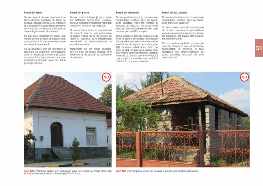 Pagina 33 - Zona Gorj - Ghid de arhitectura pentru incadrarea in specificul local din mediul rural  ...