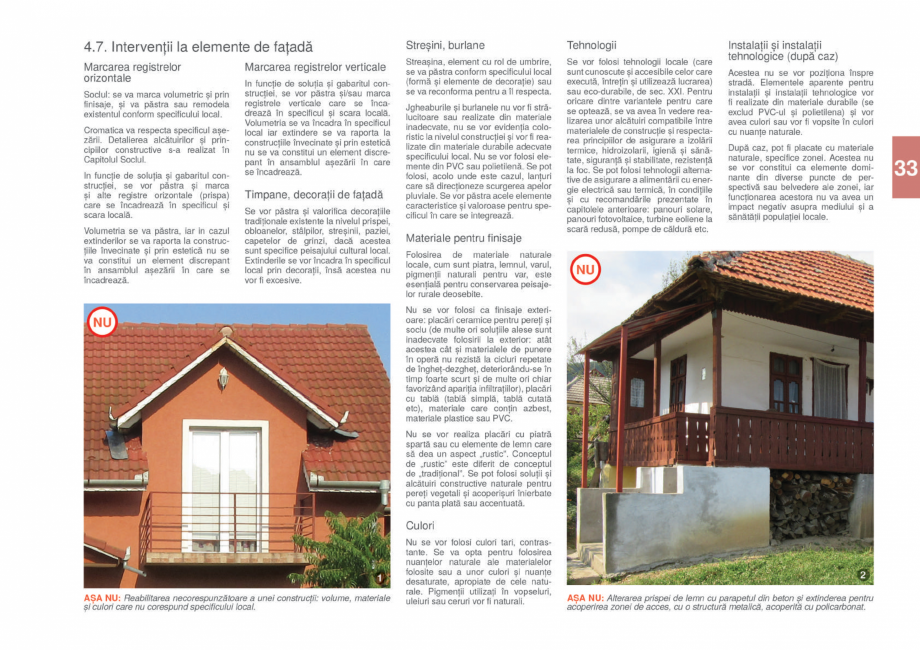 Pagina 35 - Zona Gorj - Ghid de arhitectura pentru incadrarea in specificul local din mediul rural  ...