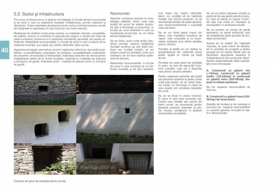 Pagina 42 - Zona Gorj - Ghid de arhitectura pentru incadrarea in specificul local din mediul rural  ...