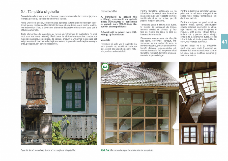 Pagina 43 - Zona Gorj - Ghid de arhitectura pentru incadrarea in specificul local din mediul rural  ...