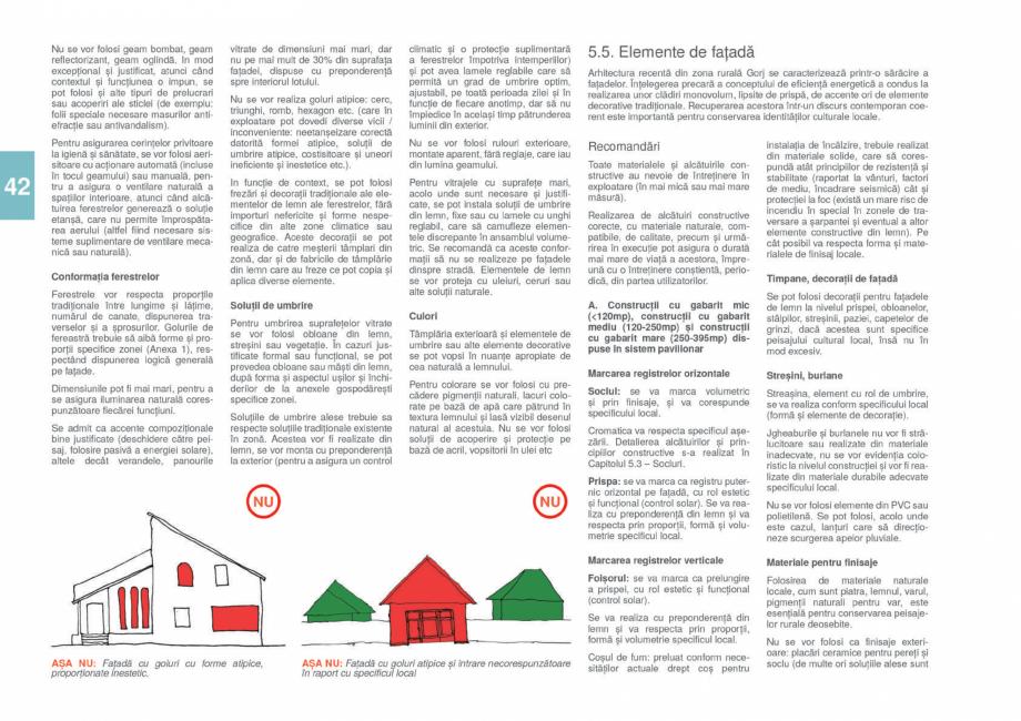 Pagina 44 - Zona Gorj - Ghid de arhitectura pentru incadrarea in specificul local din mediul rural  ...