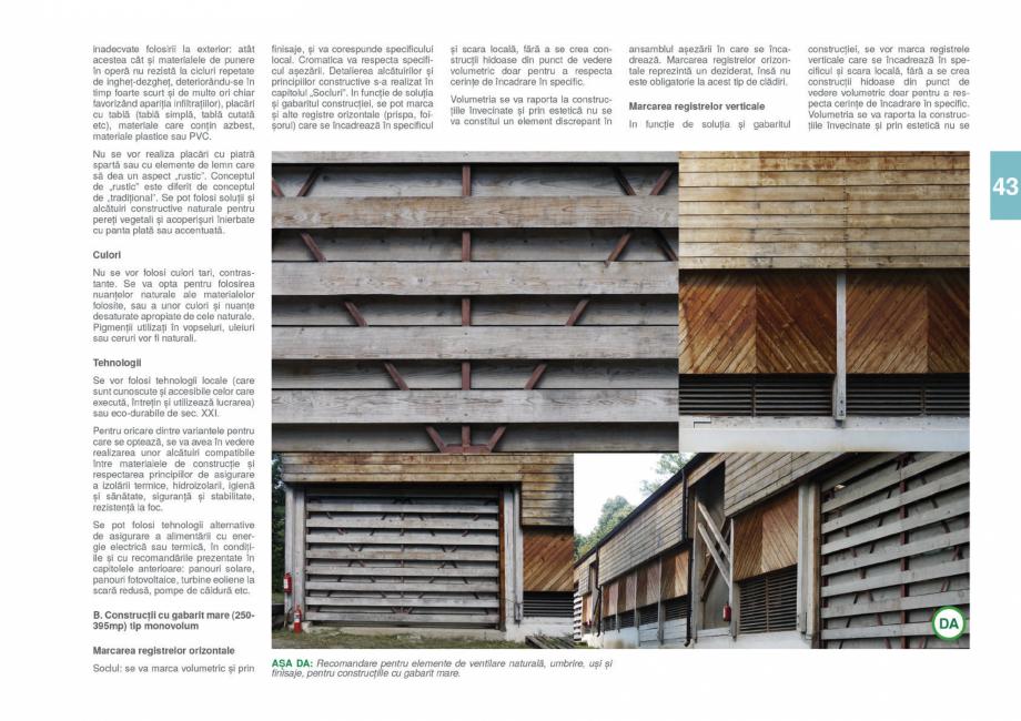 Pagina 45 - Zona Gorj - Ghid de arhitectura pentru incadrarea in specificul local din mediul rural  ...