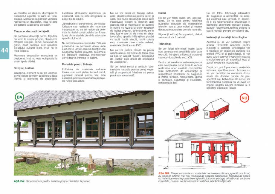 Pagina 46 - Zona Gorj - Ghid de arhitectura pentru incadrarea in specificul local din mediul rural  ...