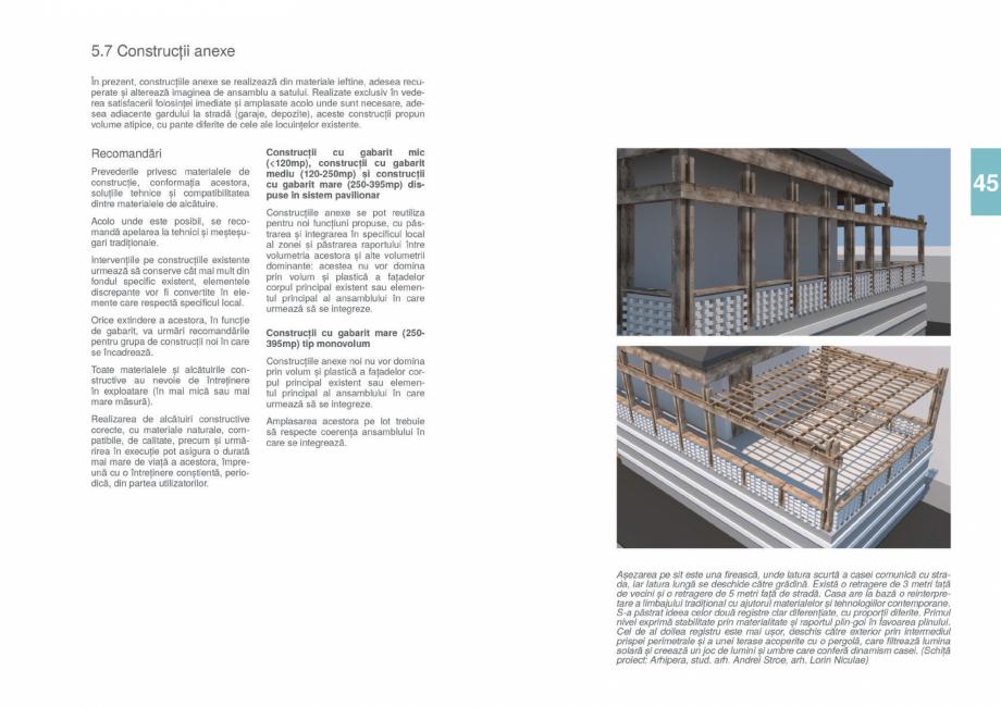 Pagina 47 - Zona Gorj - Ghid de arhitectura pentru incadrarea in specificul local din mediul rural  ...