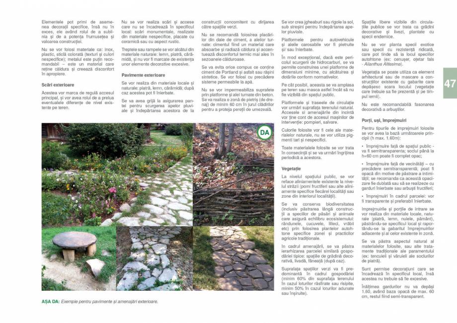 Pagina 49 - Zona Gorj - Ghid de arhitectura pentru incadrarea in specificul local din mediul rural  ...
