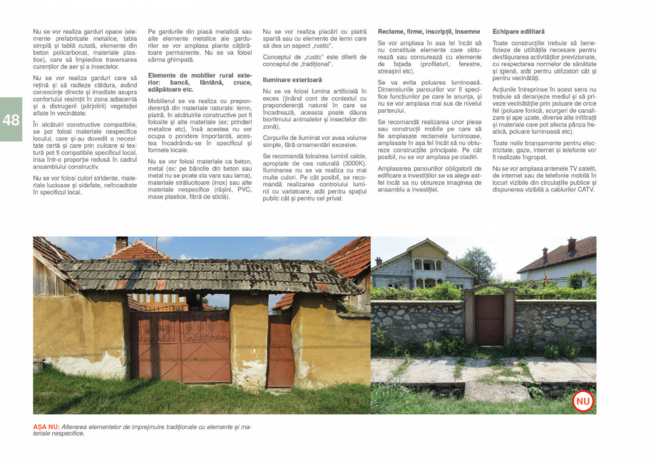 Pagina 50 - Zona Gorj - Ghid de arhitectura pentru incadrarea in specificul local din mediul rural  ...