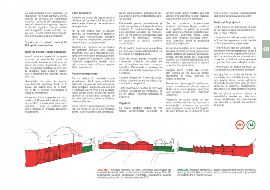Pagina 51 - Zona Gorj - Ghid de arhitectura pentru incadrarea in specificul local din mediul rural  ...