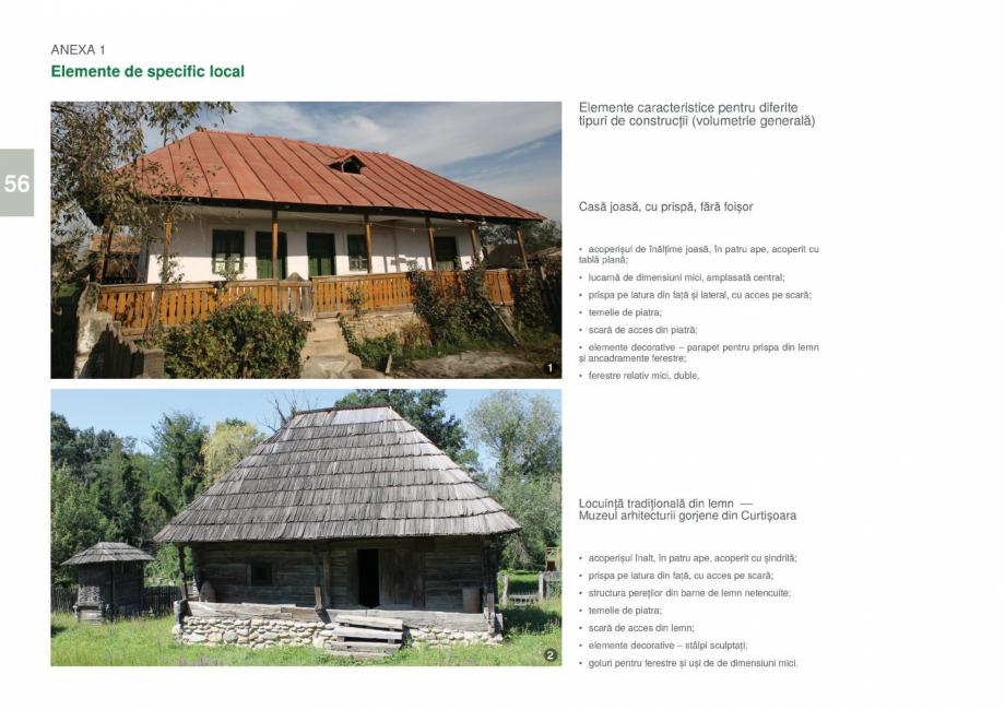 Pagina 58 - Zona Gorj - Ghid de arhitectura pentru incadrarea in specificul local din mediul rural  ...
