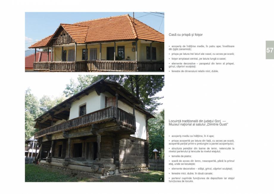 Pagina 59 - Zona Gorj - Ghid de arhitectura pentru incadrarea in specificul local din mediul rural  ...