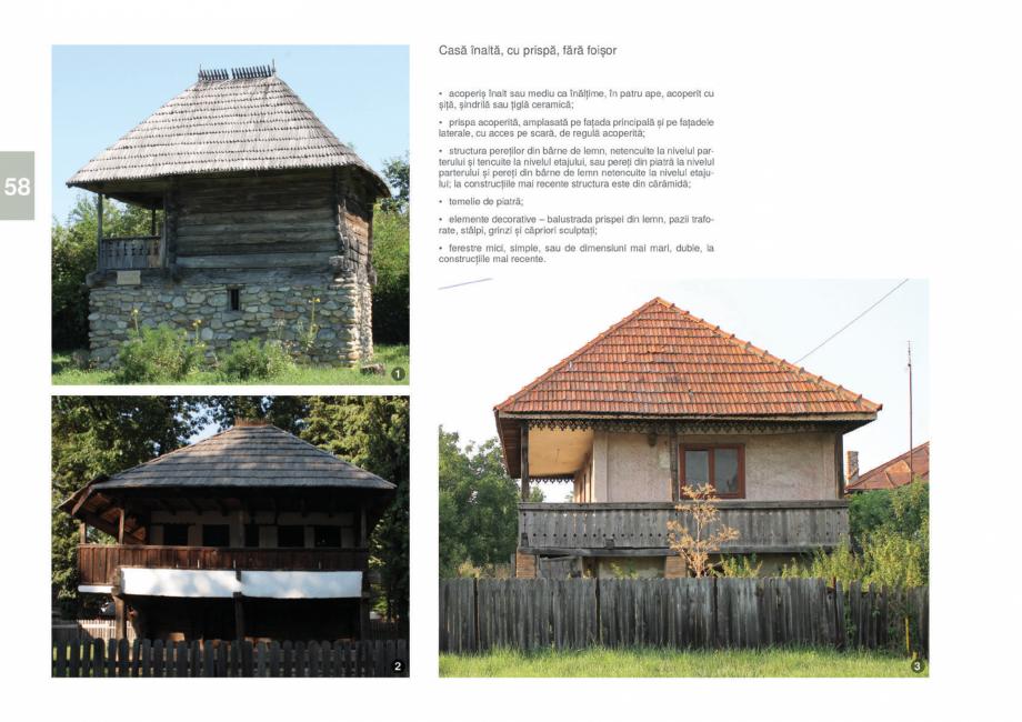 Pagina 60 - Zona Gorj - Ghid de arhitectura pentru incadrarea in specificul local din mediul rural  ...