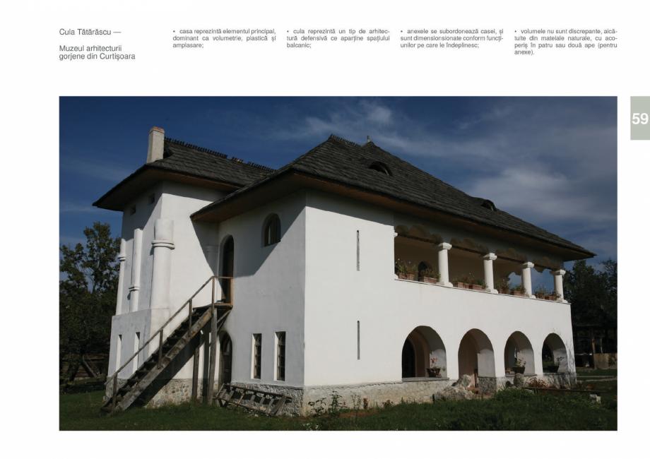 Pagina 61 - Zona Gorj - Ghid de arhitectura pentru incadrarea in specificul local din mediul rural  ...