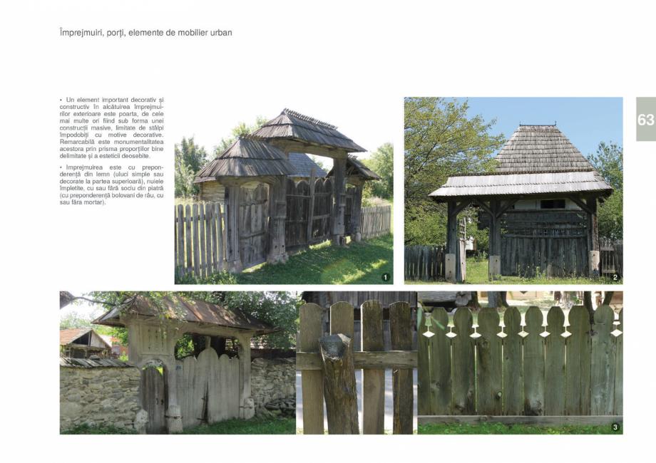 Pagina 65 - Zona Gorj - Ghid de arhitectura pentru incadrarea in specificul local din mediul rural  ...